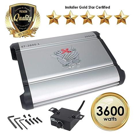 Kicker 12/Cx3001/CX-Series Monoblock Power Amplifier/ Black /each