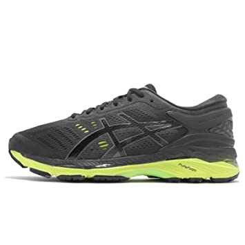 cca8512697db Image Unavailable. Image not available for. Color: ASICS Men's Gel-Kayano 24  4E Extra Wide, Black/Green Gecko/Phantom