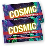 COSMIC Magical Flames: Creates Vibrant, Colorful Flames For Woodburning Fires! (12)