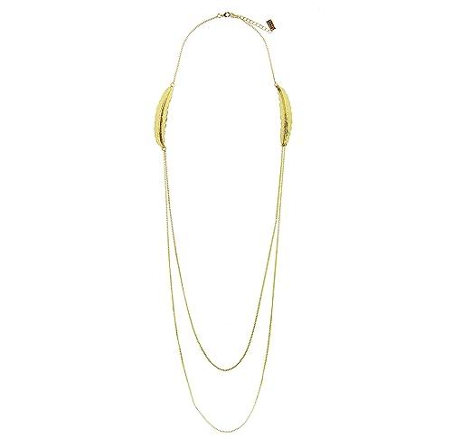 4f0ce91f6c8e Sweet Deluxe 4957 de mujer Collar Muelle Oro Moderna Cadena Choker total  longitud ajustable