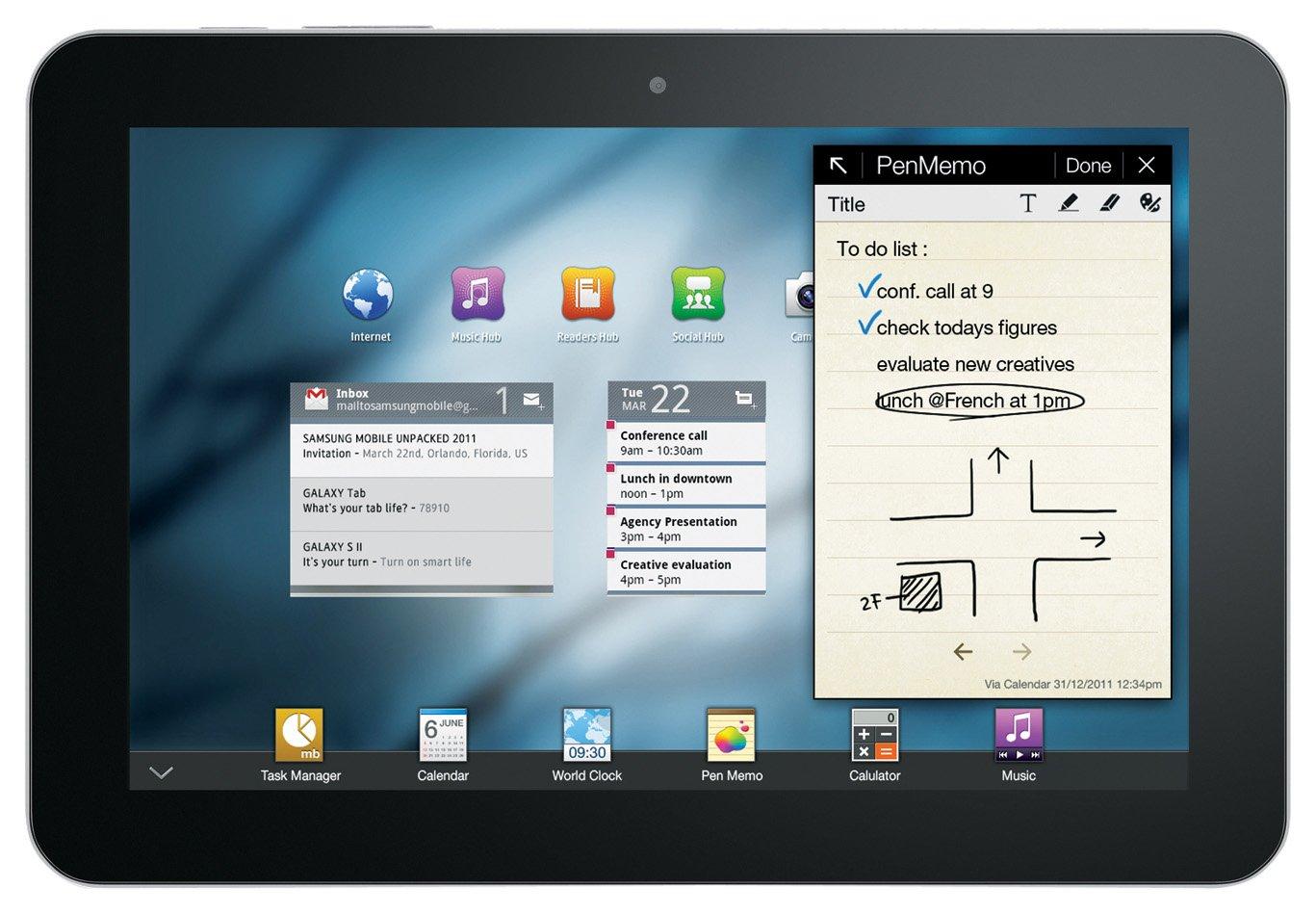 Samsung Galaxy TAB 8 9 P7300 WI-FI + 3G Nvidia® 1024 MB Android