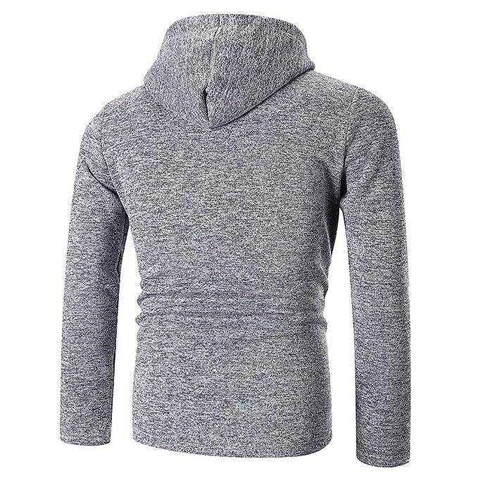 Amazon.com: Feitengtd Mens Autumn Hoodie Hooded Sweatshirt Long Sleeve Plaid Top Fashion Tee Outwear Blouse: Clothing