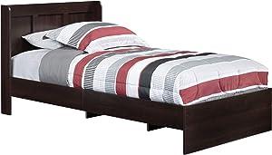 Sauder Parklane Twin Platform Bed with Headboard
