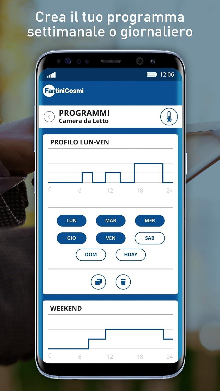 Fantini Cosmi - Termostato programable semanal - Ultraplano - Pantalla táctil - Modelo CH193BWIFI - 230V/50Hz, Negro, CH193WIFI: Amazon.es: Bricolaje y ...