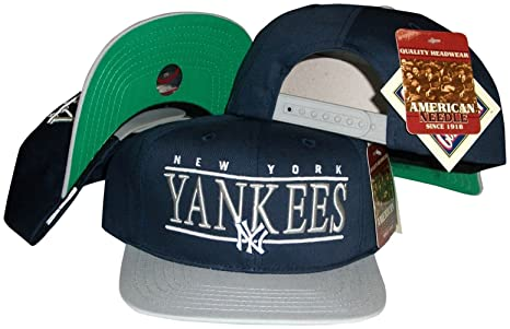9c7b45c38 Amazon.com : American Needle New York Yankees Navy/Grey Two Tone ...
