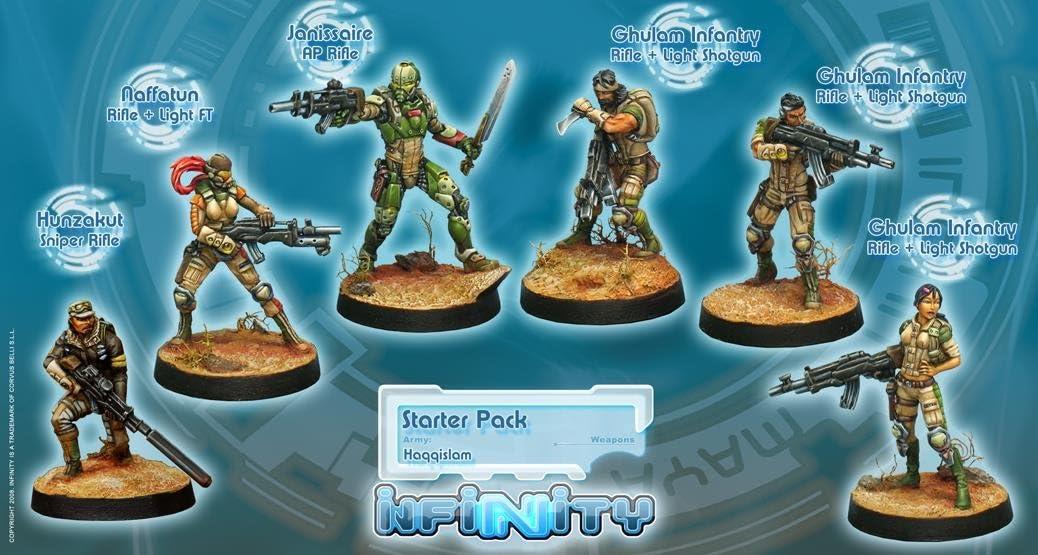Infinity: Haqqislam - Starter Pack by Corvus Belli: Amazon.es: Juguetes y juegos