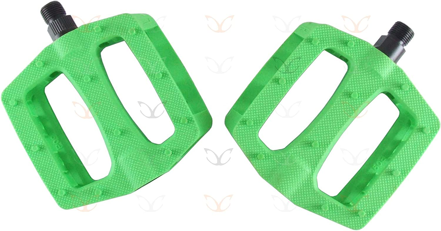 eXotic Polycarbonate Flat BMX MTB Pedals in More Than 12 Colours only 366 gm//pr