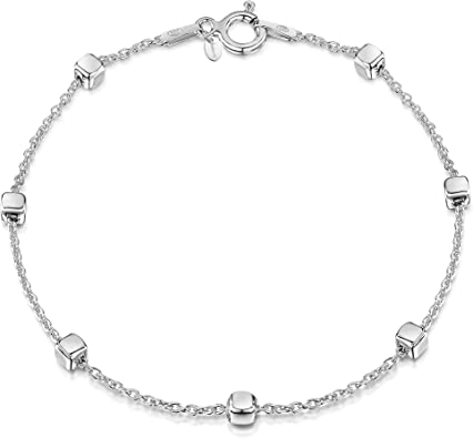 bracelet argent femme amberta