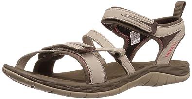 Merrell Women's Siren Strap Q2 Athletic Sandal, Aluminum, ...