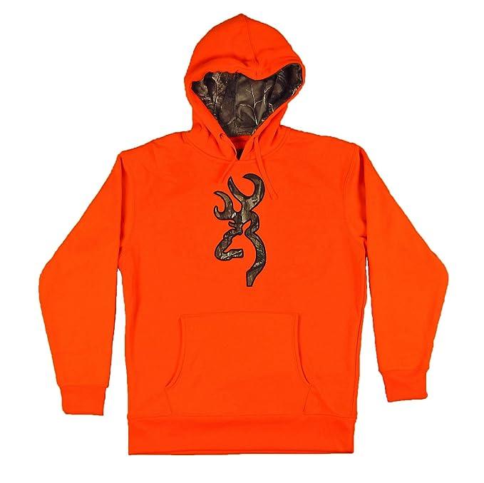 4150ba6f64f40 Amazon.com: Browning Mens Blaze Hoodie w/Camo Buckmark,Large ...