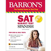 SAT Subject Test Spanish with Online Test