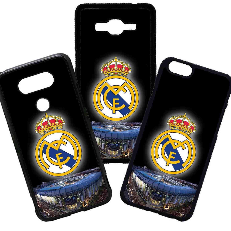 Tuscaprichosonline Carcasas De Moviles Fundas De TPU Compatible con El Modelo de Movil Huawei P30 Lite Fútbol Deporte Real Madrid Estadio Escudo: Amazon.es: Electrónica