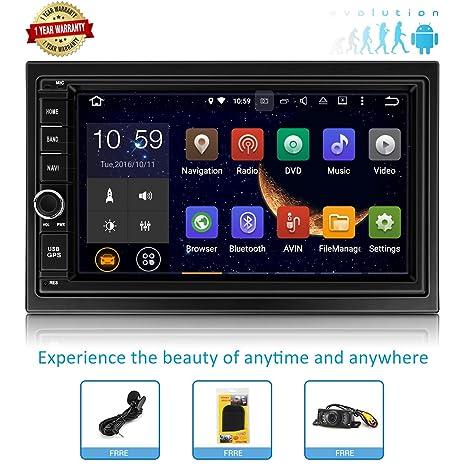 Amazon.com: Estéreo de coche Android GPS para coche de radio ...