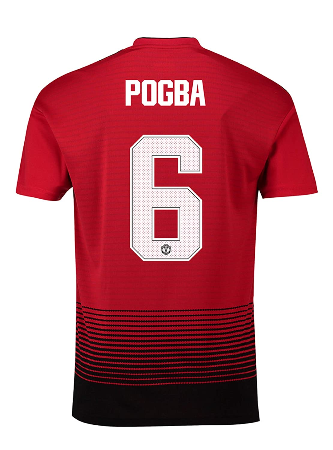 d440f0b5210 Manchester United FC Official Football Gift Mens Pogba 6 Home Kit Shirt  Medium  Amazon.co.uk  Clothing