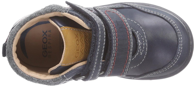 Geox B Flick Boy B - Zapatillas de Cuero para niño: Amazon ...