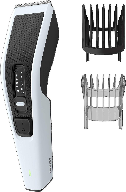 Philips HC3518/15 Series 3000 Cortapelos HC3518/15 - Afeitadora (Negro, Rectángulo, 0,5 mm, 2,3 cm, 4,1 cm, Barba, Oído)