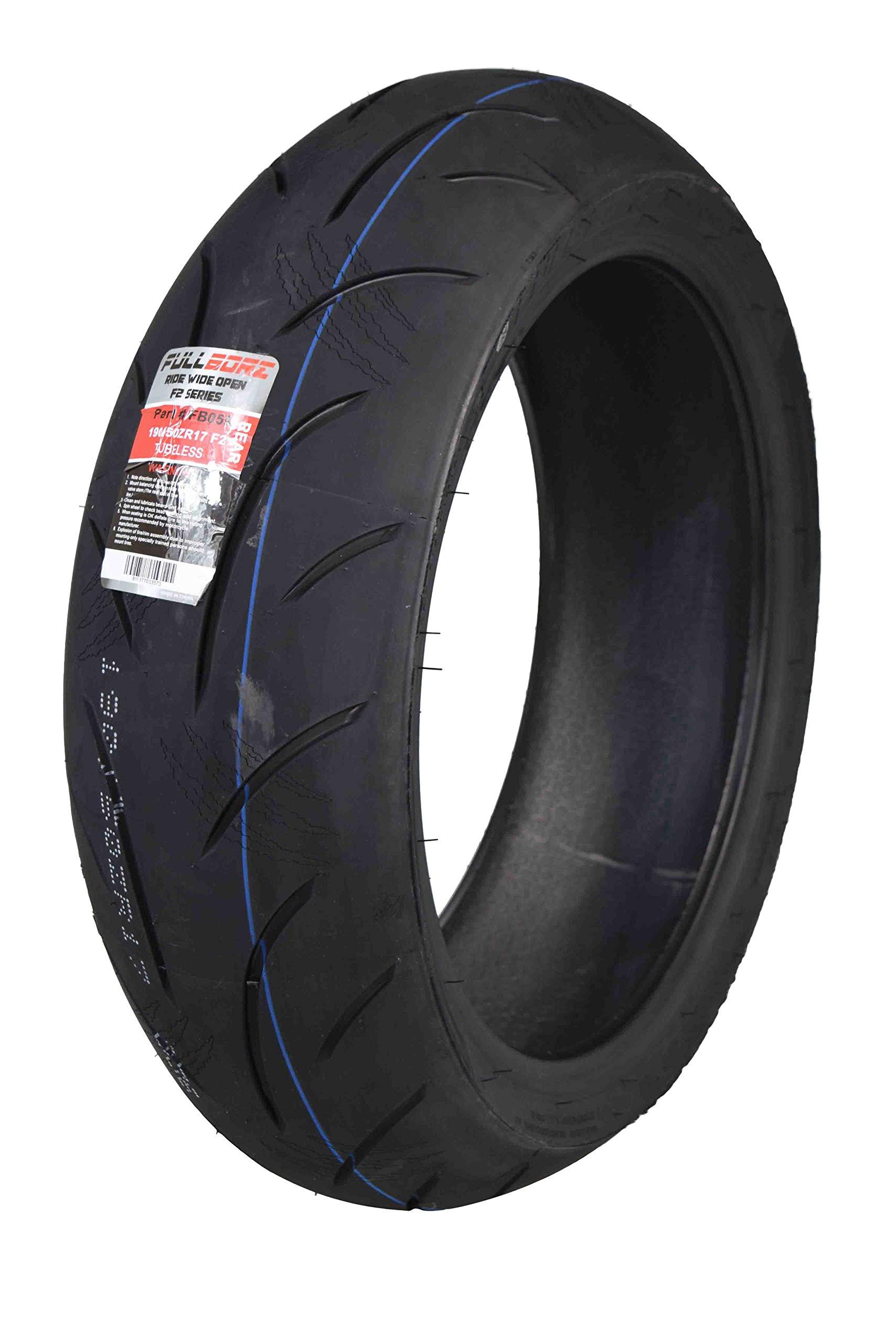 Full Bore Super Bike F2 Rear Motorcycle Tire (190/50ZR17 Rear) 190/50-17