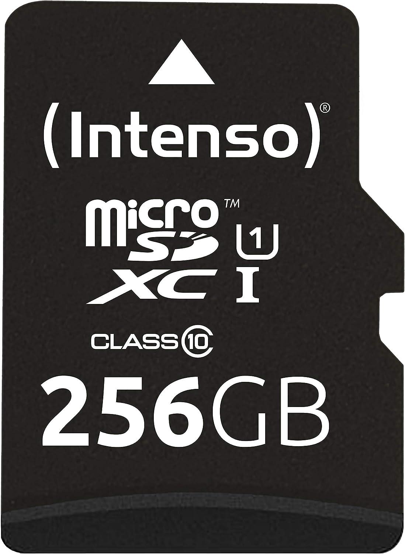 Intenso Micro Sdxc 256gb Class 10 Speicherkarte Computer Zubehör