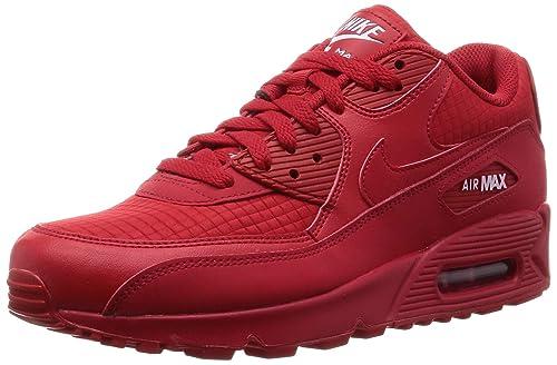 Nike Air Max 90 Essential Rot Weiss Schwarz 537384 610