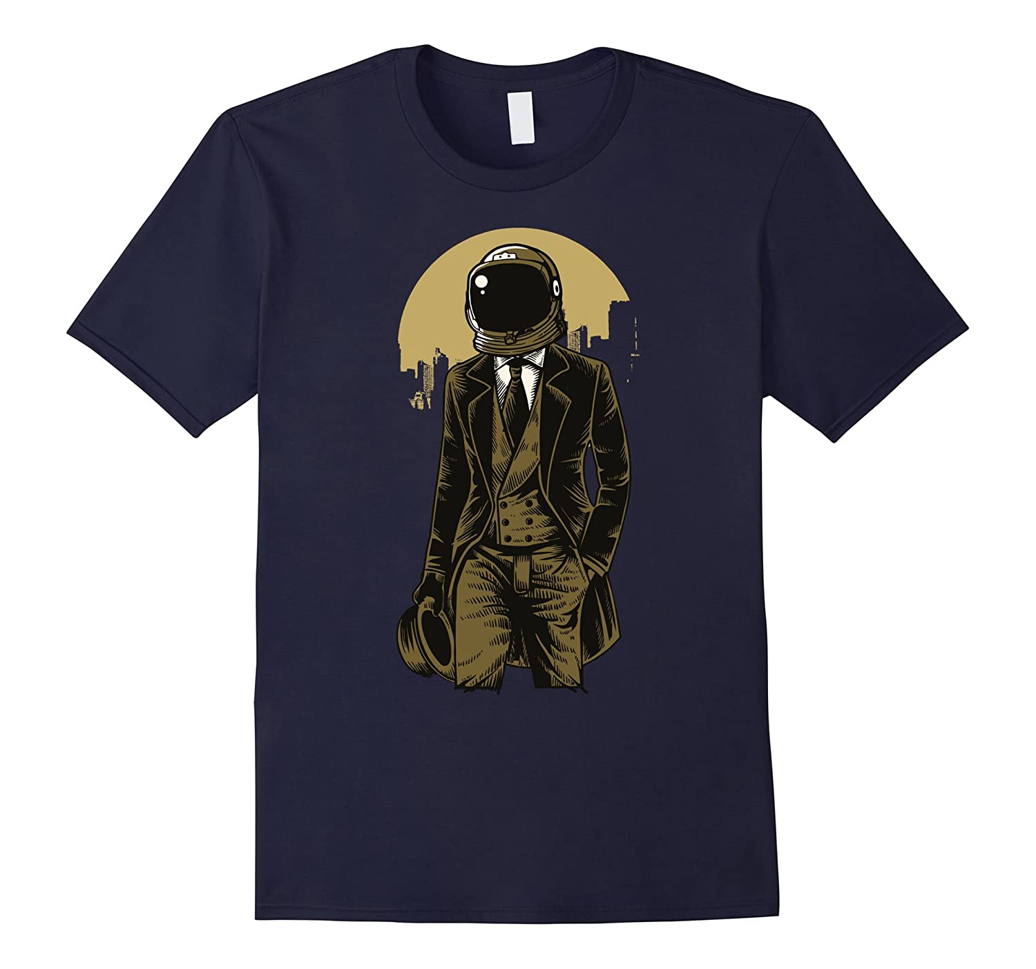 Funny Awesome classic Astronaut cool T Shirt-ANZ