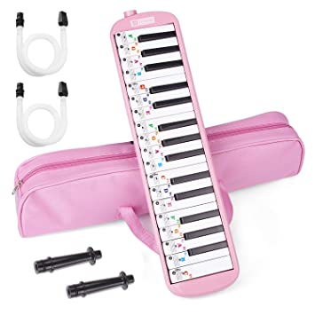 Portable 32 Key Melodica Student Mundharmonika Musikinstrument Geschenk