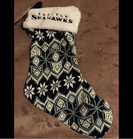 Amazon Nfl Seattle Seahawks Ugly Sweater Knit Christmas