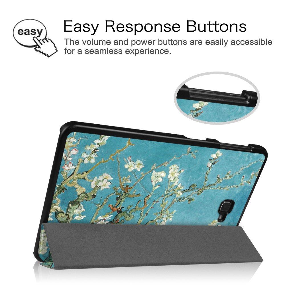 Fintie Samsung Galaxy Tab A 10.1 Funda S/úper Delgada y Ligera Funda Carcasa con Soporte Funci/ón y Auto-Sue/ño Estela para Samsung Galaxy Tab A 10.1 2016 T580N T585N Tablet,Oro Rosa