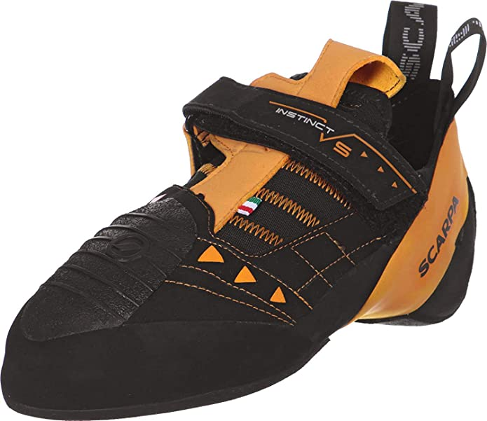 best climbing shoes for wide feet: Scarpa Men's Instinct VS Climbing Shoes