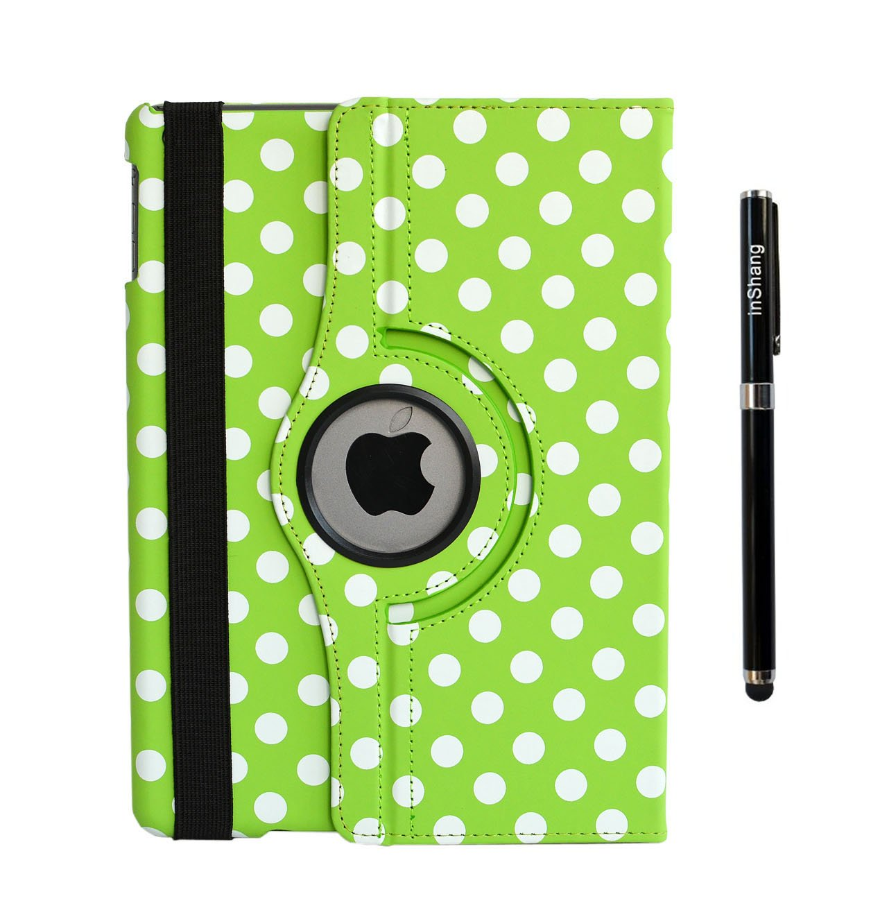 inShang Case for ipad mini 3 mini 2 mini 1, 7.9 retina display, Premium PU Leather Multi-Function Stand Cover 360 degree Rotation, With Auto Sleep Wake Function+1pc High end class business stylus Pen 7.9 retina display