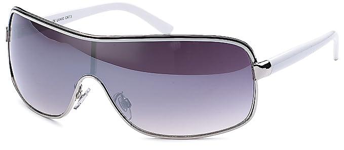 Mono Scheibe Gafas de sol Macon con degradado Cristal Negro ...