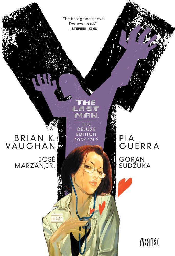 Y THE LAST MAN BOOK 4 GRAPHIC NOVEL New Edition Paperback Collects Issues #37-48