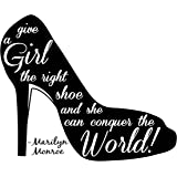 wskshop Shoes Mouse Pad, New Fashion Classic Give A Girl The Right Shoes Mouse Pad Rectangle Mousepads 06 by wskshop mousepads