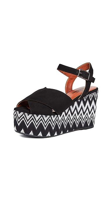 456fac930ee Amazon.com | Castaner Women's x Missoni Engie Wedge Sandals | Sandals