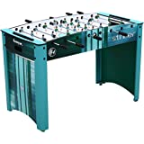 Harvil Striker 4 Foot Foosball Table for Kids and Adults with Free Balls, Scorers, and Accessories