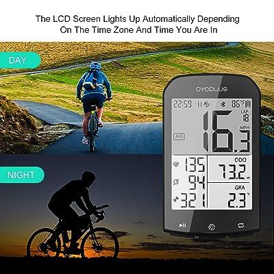 GPS Bike Computer Waterproof Bicycle Speedometer and Odometer ANT Wireless