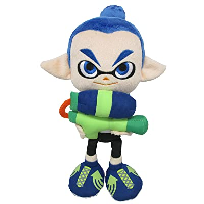 "Little Buddy 1468 USA Splatoon Male Inkling Plush, 10"": Toys & Games"