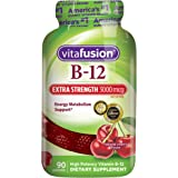 Vitafusion Extra Strength B12 Gummies, 90 Count