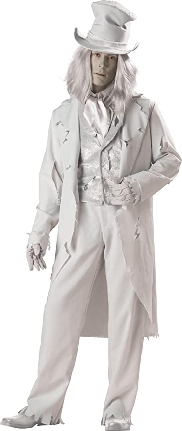Victorian Men's Costumes  Mens Ghostly Gent Costume  AT vintagedancer.com
