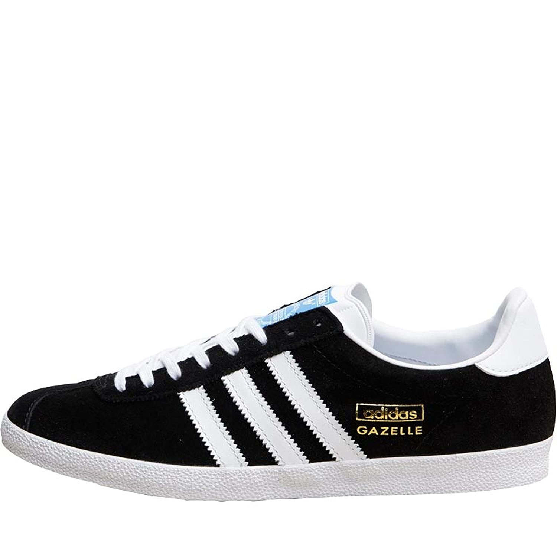 Men's Cheap Adidas Originals Gazelle SuedeLeather All Black