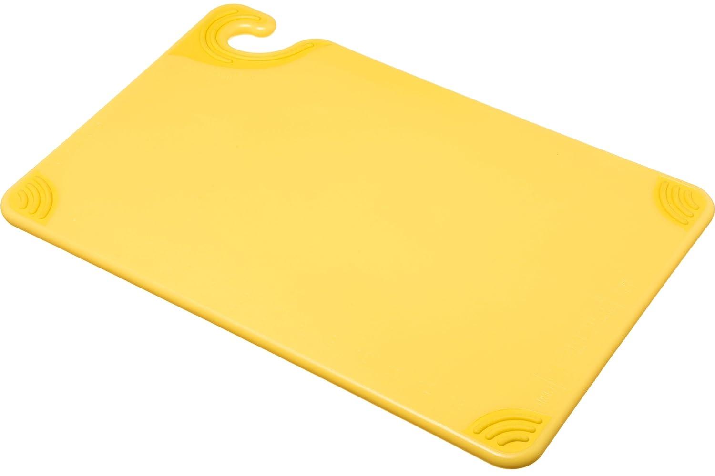 White NSF Co-Polymer San Jamar CBG6938WH Saf-T-Grip Cutting Board 6 x 9