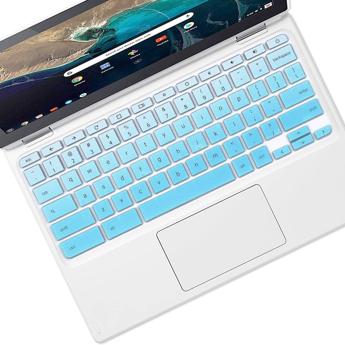 Keyboard Cover for Acer Chromebook 11 N7 CB3-132 CB3111 C731 C732 C771 11.6"