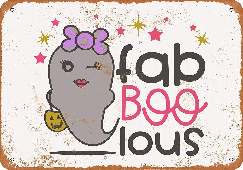 MNUT Fab Boo Lous - Cartel de Aluminio (20 x 30 cm): Amazon.es: Jardín