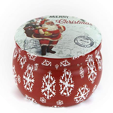 Bolsas de caramelos de Navidad Mini Candy caja de lata de té ...