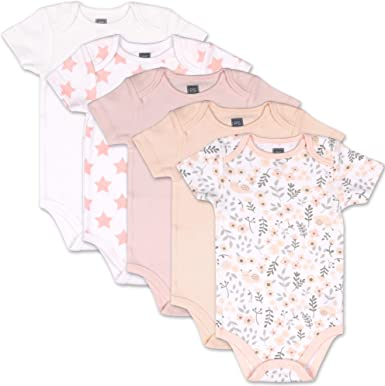 SDHEIJKY Quarter Black Pineapple Psych Baby Girls Boys 100/% Cotton Baby Bodysuits Casual Short Sleeve Infant Outfits Pink