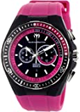 Technomarine - 111021 - Montre Mixte - Quartz Chronographe - Bracelet Silicone Rose