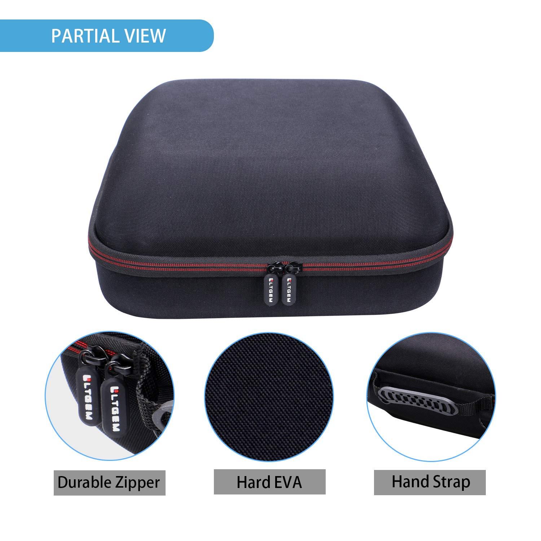 Travel Protective Carrying Storage Bag LTGEM EVA Hard Case for Cricut EasyPress Heat Press Machine (9x9 Inches)