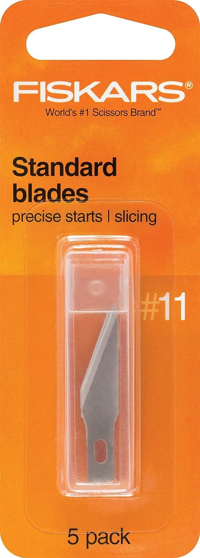 Fiskars 196010-1006 Standard Number 11 Blades, 5 Pack