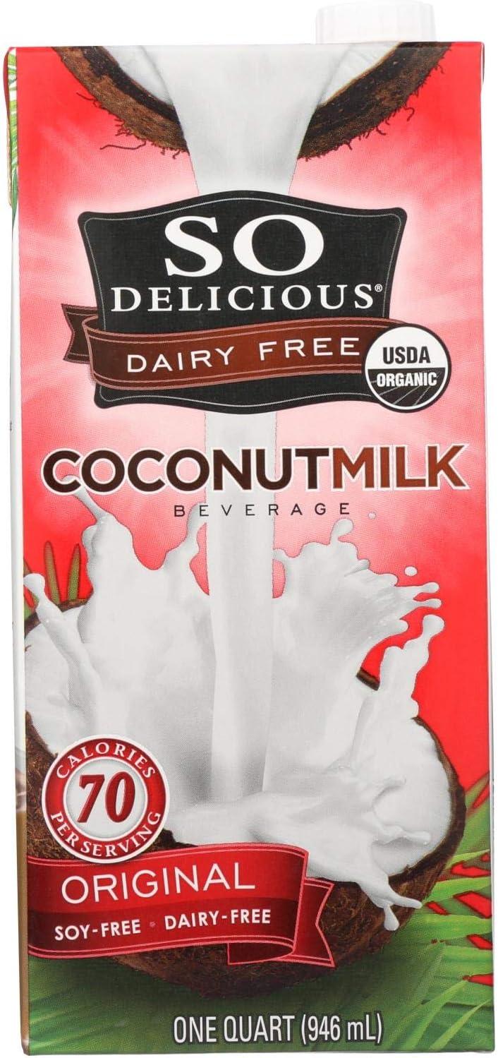 So Delicious Coconut Milk Beverage - Original - Case Of 12 - 32 Fl Oz.