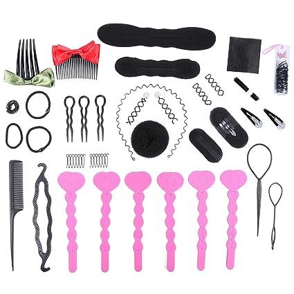405be762 Juego de peluquería, diseño de moda, accesorios para peinar el ...