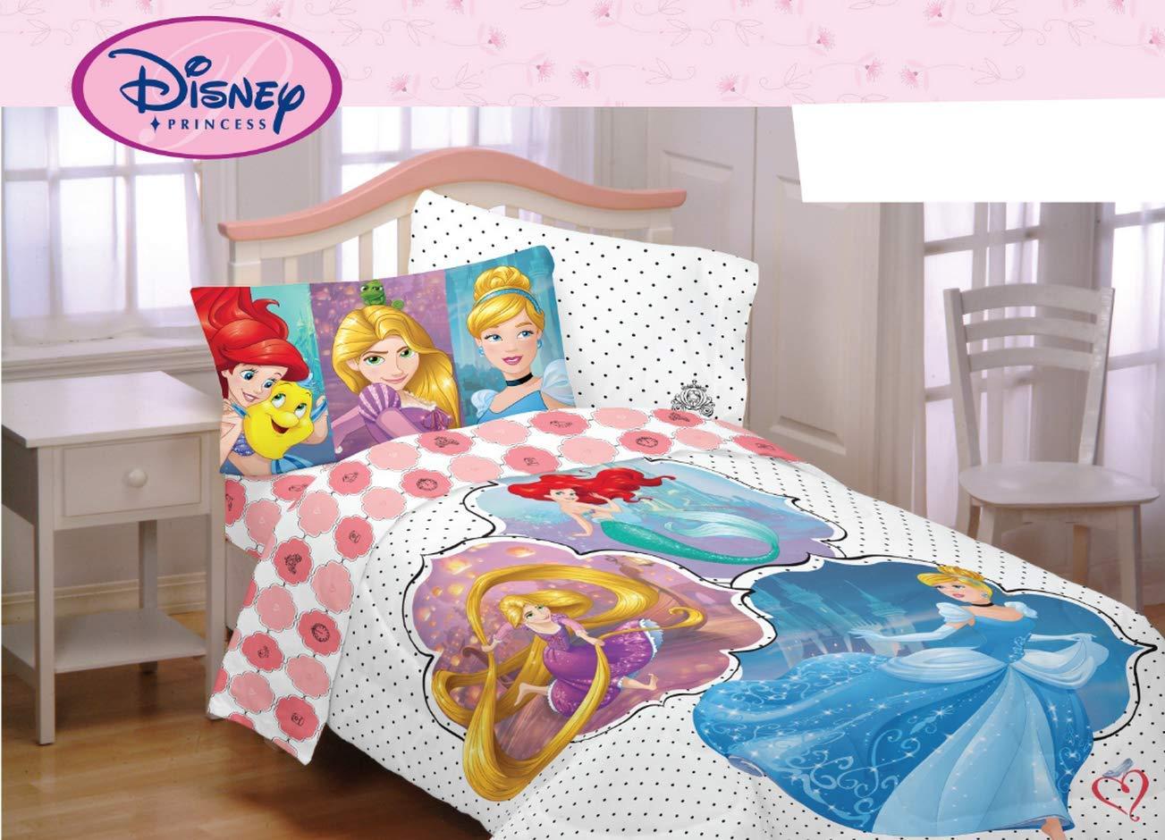 Disney Princess Comforter Twin Full Mermaid Ariel Tangled Cinderella
